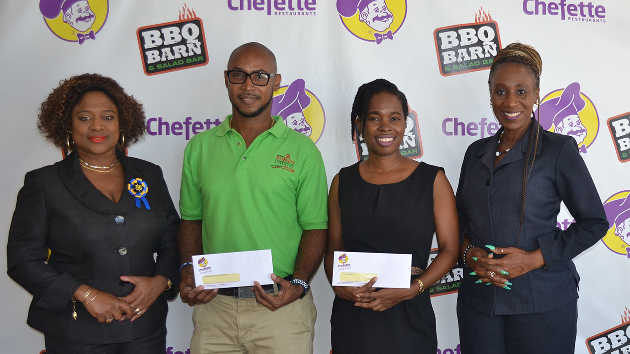 Chefette Supports Charities for World Aids Awareness Day