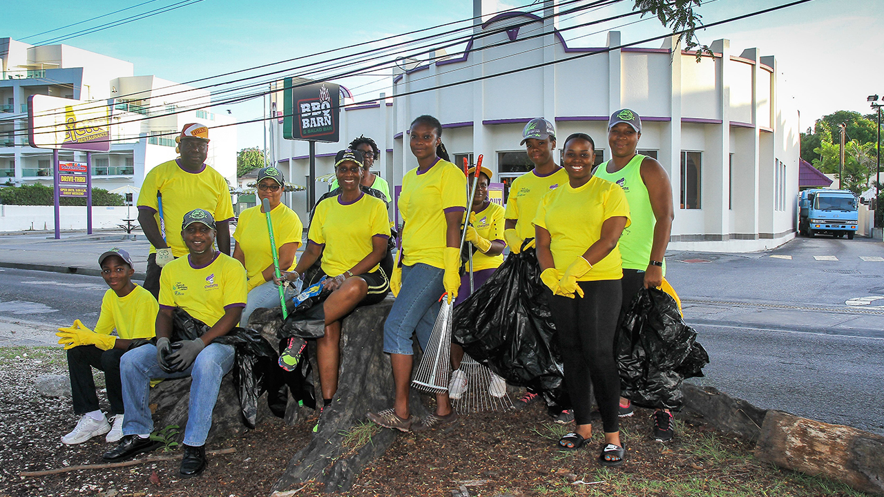 Chefette Participates in Beach Clean Up