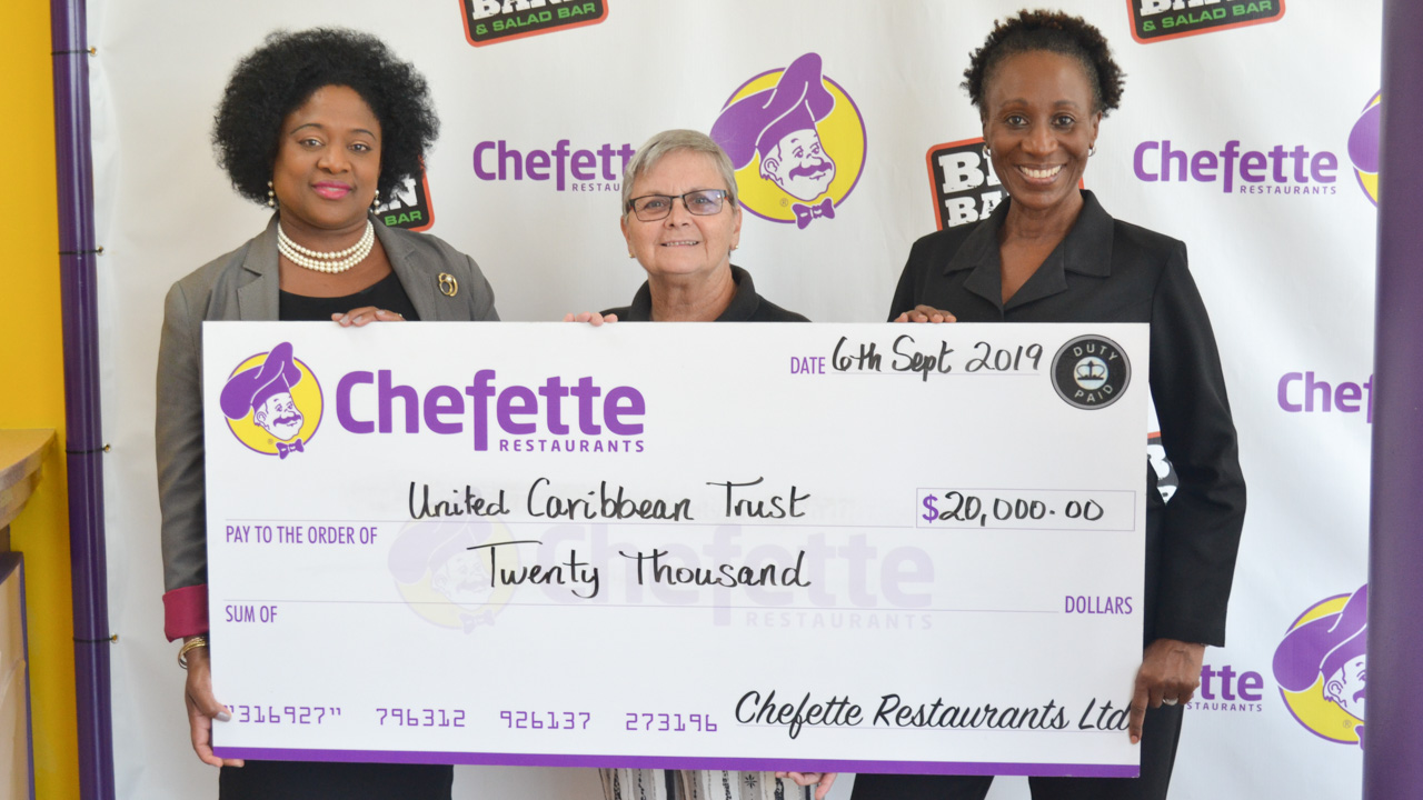 Chefette Donates to Hurricane Disaster Relief Efforts for Bahamas